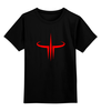 "Детская футболка классическая унисекс ""Quake III"" - game, шутер, quake, quake iii"
