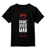 """Детская футболка классическая унисекс """"Game Over (Игра Окончена)"""" - alien, gamer, геймер, чужие, игрок"""