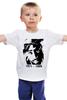 """Детская футболка классическая унисекс """"2Pac 71-96 """" - rap, hip-hop, tupac shakur, outlawz, thug life, классическая, 2pac shakur"""