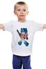 """Детская футболка классическая унисекс """"Оптимус Прайм (Трансформеры)"""" - оптимус прайм"""