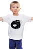 """Детская футболка """"котэ-сумка"""" - котята, смешной кот, black cat, чёрный кот"""