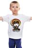 "Детская футболка классическая унисекс ""Hello Kaylee"" - кошка, hello kitty, китти, япония, japan"