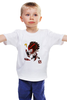 """Детская футболка классическая унисекс """"Dota 2 Bloodseeker"""" - dota 2, дота 2, bloodseeker, dota 2 bloodseeker, блудсикер"""