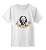 """Детская футболка классическая унисекс """"Джон Крамер - попытка не пытка"""" - джон крамер, попытка не пытка, john kramer, saw, пила"""