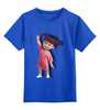 """Детская футболка классическая унисекс """"МАЛЫШКА"""" - ребёнок, корпорация монстров, пу"""