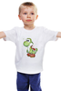 """Детская футболка """"Yoshi (Mario)"""" - нинтендо, nintendo, mario bros, yoshi, йоши"""