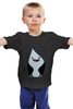 "Детская футболка классическая унисекс ""Марселин"" - time, время, adventure, приключений, марселин, maceline"