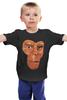 """Детская футболка классическая унисекс """"Обезьяна (Планета Обезьян)"""" - планета обезьян, planet of the apes"""