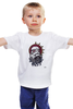 """Детская футболка классическая унисекс """"Штурмовик из Star Wars"""" - арт, star wars, stormtrooper, щупальца, звёздные войны, штурмовик"""