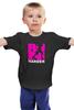 """Детская футболка классическая унисекс """"ФитПит.рф - Спортивное питание"""" - спорт, фитнес, run, кросфит"""