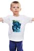 """Детская футболка классическая унисекс """"Chappie / Робот Чаппи"""" - робот, хью джекман, chappie, чаппи, kinoart"""