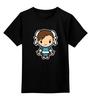 """Детская футболка классическая унисекс """"Chun-li (Street Fighter)"""" - файтинг, драка, уличный боец, street fighter"""