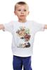 "Детская футболка классическая унисекс ""Сон"" - авторские майки, сон, фантазия, сюрреализм, dream, surreal"