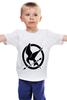 """Детская футболка классическая унисекс """"Голодные Игры"""" - hunger games, catching fire, science fiction"""