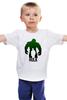 """Детская футболка классическая унисекс """"халк - герой"""" - hulk, халк"""