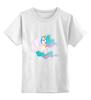 """Детская футболка классическая унисекс """"Celestia"""" - my little pony"""