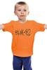 "Детская футболка классическая унисекс ""blink-182 yellow logo"" - ava, blink 182, angels&airwaves, blink182, tomdelonge"