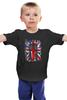 "Детская футболка классическая унисекс ""10th флаг UK (Доктор Кто)"" - doctor who, bbc, флаг, uk, доктор кто, тардис"