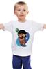 """Детская футболка классическая унисекс """"Символ олимпиады  в Сочи 2014   """" - квн, символ олимпиады в сочи, галустян"""
