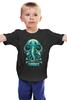 """Детская футболка классическая унисекс """"Art Horror"""" - skull, череп, слон, тьма, dark"""