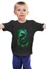 """Детская футболка классическая унисекс """"Багира (Пантера)"""" - кошка, пантера, джунгли, jungle, panther"""