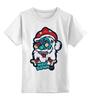 """Детская футболка классическая унисекс """"Merry Deadmas """" - zombie, christmas, santa, merry"""