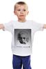 """Детская футболка """"Эйнштейн"""" - science, albert einstein, физика, эйнштейн"""