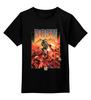 """Детская футболка классическая унисекс """"Doom game"""" - арт, games, игры, игра, game, стиль, doom, парню, old school, шутер"""