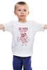 """Детская футболка классическая унисекс """"Мопс Штангист"""" - спорт, pug, собаки, мопс"""