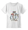 """Детская футболка классическая унисекс """"New year"""" - новый год, new year, новогодняя"""