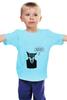 """Детская футболка """"сова преподаватель у доски"""" - авторские майки"""