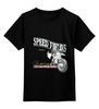 """Детская футболка классическая унисекс """"Мото...Speed Fields..."""" - мото, авто, мотоцикл, скорость, популярное"""