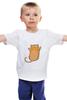 """Детская футболка """"Рыжий кот"""" - кот, cat, рыжий кот, смешной кот"""