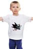 "Детская футболка ""Сан-Хосе Шаркс "" - хоккей, nhl, нхл, san jose sharks, сан-хосе шаркс"