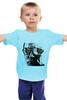 """Детская футболка классическая унисекс """"Путин"""" - россия, обама, путин, президент, putin"""