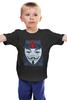 """Детская футболка """"Вендетта (Маска Гая Фокса)"""" - anonymous, guy fawkes, guy fawkes mask, маска гая фокса, вендетта"""
