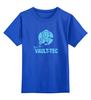 """Детская футболка классическая унисекс """"Fallout  Vault-Tec"""" - кола, fallout, vault-tec, выпадение радиоактивных осадков, нука"""