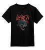 """Детская футболка классическая унисекс """"Slayer """" - reign in blood, slayer"""