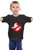 "Детская футболка классическая унисекс ""Ghostbusters"" - ghost, ghostbusters, охотники за приведениями, лизун"