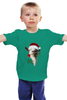 """Детская футболка классическая унисекс """"Хэпи Нью Йеар!"""" - прикол, новый год, new year, sheep, 2015, коза, символ 2015, смешная коза"""