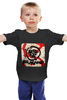 "Детская футболка классическая унисекс ""Rise Against - logo"" - logo, rise against, punk, hardcore, хардкор"