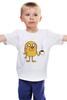 """Детская футболка классическая унисекс """"Время Приключений. Джейк"""" - adventure time, время приключений, джейк, jake the dog"""