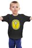 """Детская футболка классическая унисекс """"Миньон (Banana)"""" - banana, миньоны, гадкий я, minion"""
