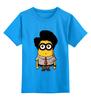 """Детская футболка классическая унисекс """"Minion Moss"""" - миньон, гадкий я, minion, компьютерщики"""