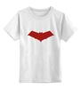 """Детская футболка классическая унисекс """"Красный колпак (Red Hood)"""" - красный колпак, red hood, бэтмен, batman"""