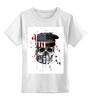 """Детская футболка классическая унисекс """"Америка"""" - skull, череп, америка, usa"""