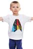 """Детская футболка """"Star Trek / Звездный Путь"""" - кино, star trek, звездный путь, афиша, kinoart"""