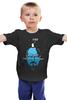 """Детская футболка классическая унисекс """"Я на Гейзенберге"""" - пингвин, во все тяжкие, breaking bad, уолтер уайт, heisenberg"""