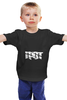 "Детская футболка классическая унисекс ""Толстовка ""Грот"""" - грот"