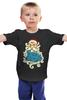 """Детская футболка """"Дед Мороз (Santa)"""" - новый год, new year, дед мороз, нг, santa, merry christmas, 2015, в чем встречать новый год, с рождеством"""